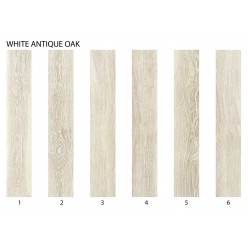 Wicanders Studio принт Viscork White Antique Oak (с фаской)